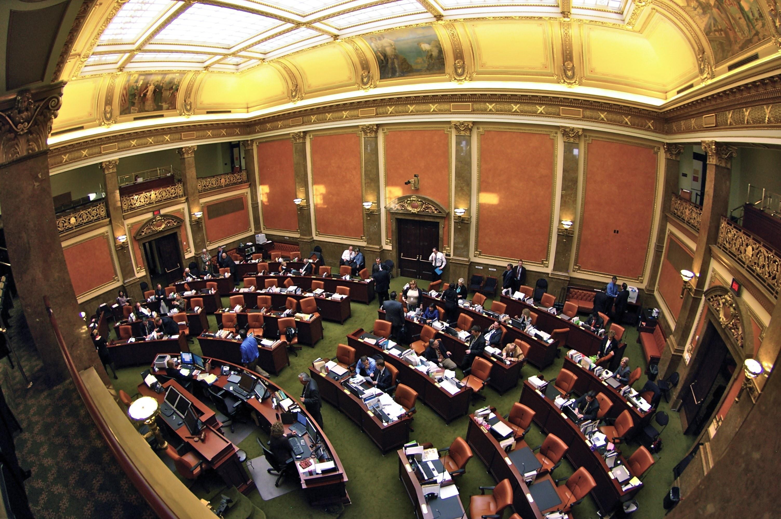 Inside Utah State Capitol